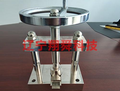 Pressure mounting machine